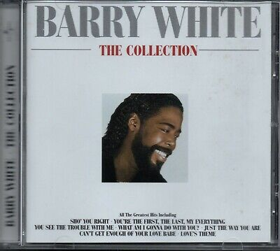 BARRY WHITE - The Collection - CD Album *Best Of**Greatest Hits**Singles*