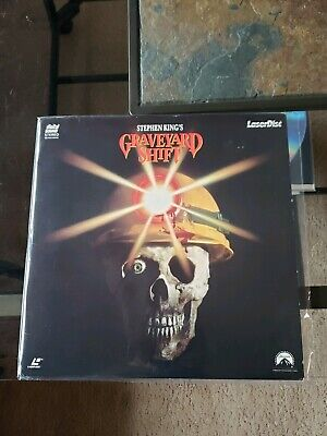 GRAVEYARD SHIFT Laserdisc LD VERY GOOD CONDITION VERY RARE STEPHEN KING'S!