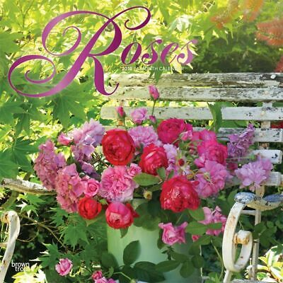2019 Roses Wall Calendar,  by BrownTrout