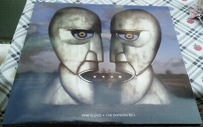 Pink Floyd The Division Bell  Unofficial 1994 Blue Half Transparent LP MINT