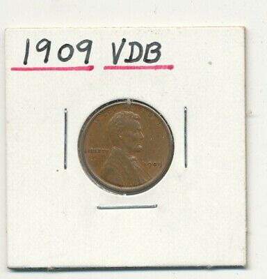 1909 VDB Lincoln Wheat Cent Exact Coin Shown