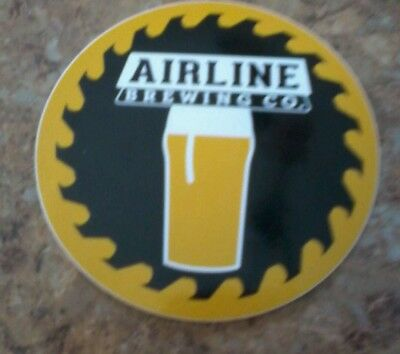 Airline Brewing Company Sticker Maine Beer Brewery