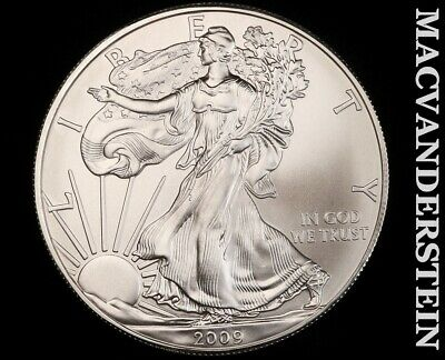 2009 American Silver Eagle 1 Ounce-Ch Gem Brilliant Unc!! No Reserve!! #f3439