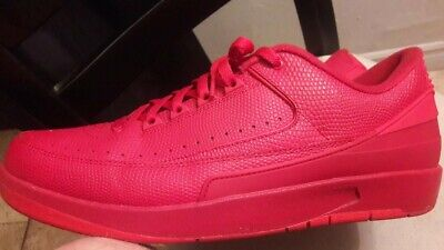 beb87917ae53b5 US. MEN S SIZE 11 Beater Air Jordan 2 Retro Low Triple Gym Red ...