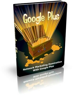 Google Plus PDF E-Book with Resale Rights Free Shipping
