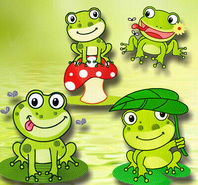 HAPPY FROGS 20 MACHINE EMBROIDERY DESIGNS CD or USB