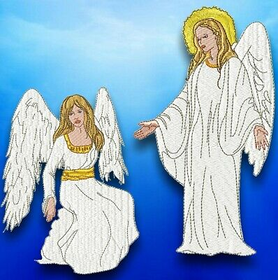 HEAVENLY ANGELS  10 MACHINE EMBROIDERY DESIGNS CD or USB
