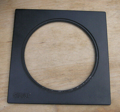 genuine Sinar F & P  lens board panel with large 101.9mm hole