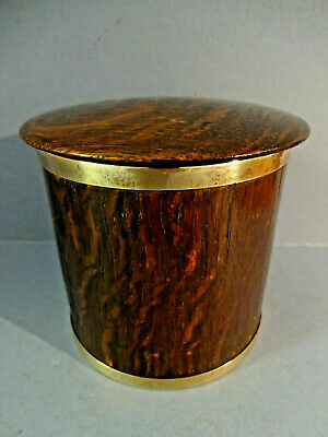 "VINTAGE 1930s BENT OAK "" HUDDEN & Co"" TABLE CIGARETTE BOX."