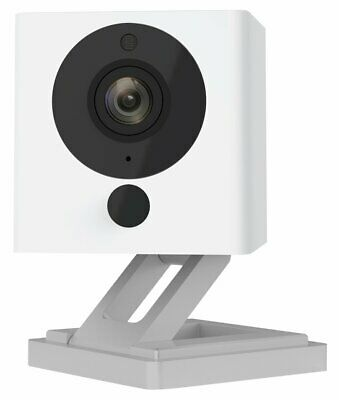 Wireless Smart Home Camera Night Vision 2-Way Audio Works 1080p HD Indoor New