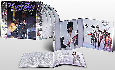 PRINCE CD x 3 + DVD Purple Rain 2017 REMASTERED Expanded DELUXE Set + Promo Sht