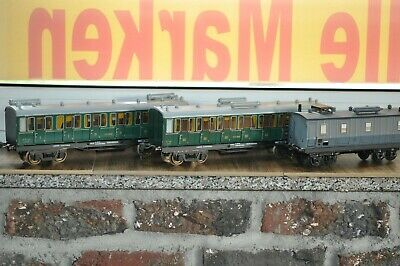 AS France gauge 0 Spur 0 PLM 3 x coach passenger set  Metallmodelle