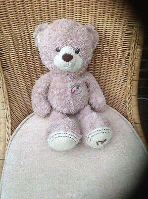 Mothercare Large Beige Made With Love Teddy Bear
