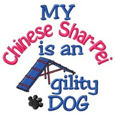 My Chinese Shar Pei is An Agility Dog Fleece Jacket - DC1846L Size S - XXL