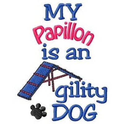 My Papillon is An Agility Dog Fleece Jacket - DC2016L Size S - XXL