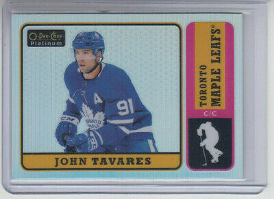 18/19 OPC Platinum Toronto Maple Leafs John Tavares Retro Rainbow card #R-40
