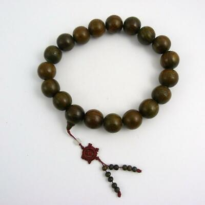 Chinese Wooden Prayer Beads, 20Th Century