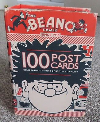 The Beano Comic - 100 Post Cards Box Set