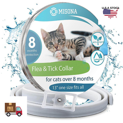 Flea and Tick Collar Anti Insect for Pet Cat 8 Months Protection Seresto Health