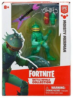 Fortnite Epic Games Battle Royale Collection Moisty Merman 2-Inch Mini Figure