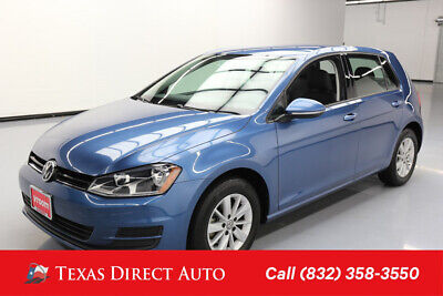 2015 Volkswagen Golf 1.8T S 4dr Hatchback 6A Texas Direct Auto 2015 1.8T S 4dr Hatchback 6A Used Turbo 1.8L I4 16V Automatic