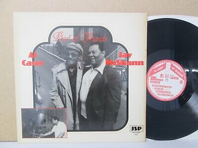 Al Casey & Jay McShann ‎– The Best Of Friends LP 1982 Vinyl EX Jazz Guitar Piano