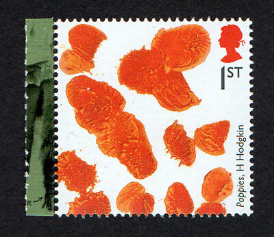 2015 SG 3711 1st 'Poppies' by H Hodgkin ex 'Great War 1915' PSB DY13 MINT