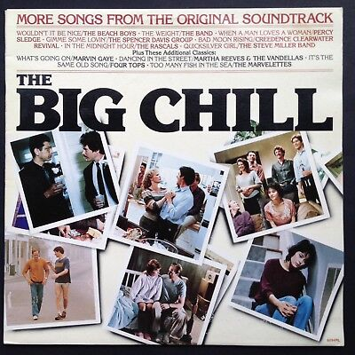 Import THE BIG CHILL LP More Songs From Film Soundtrack OST Goldblum Kevin Kline