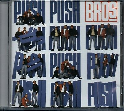 BROS - Push - CD Album *When Will I Be Famous, I Owe You Nothing*