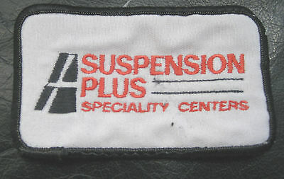 Suspension Plus Speciality Center Embroidered Sew On Only Patch Automotive