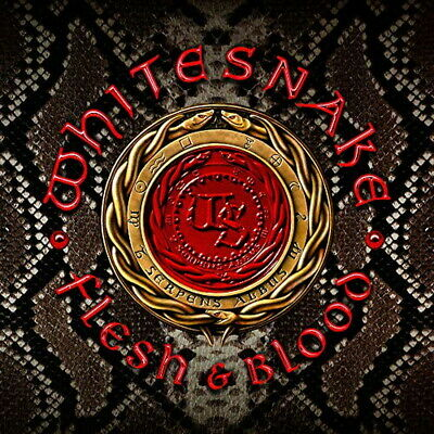 Whitesnake-Flesh & Blood-Japan CD+DVD Bonus Track Ltd / Ed J50