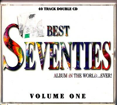 Best Seventies Album In The World 2-CD (Vol. 1) Of/ 70s Hits (Heart/Toto/ELO)