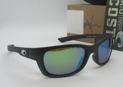 9435b3ef8a COSTA DEL MAR black green mirror TREVALLY POLARIZED 400G sunglasses! NEW IN  BOX!