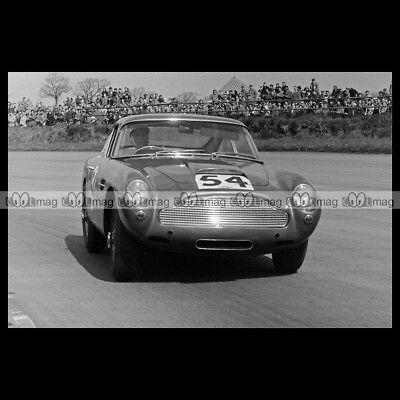 #pha.009377 Photo ASTON MARTIN DB4 GT PROTOTYPE 1959 Car Auto