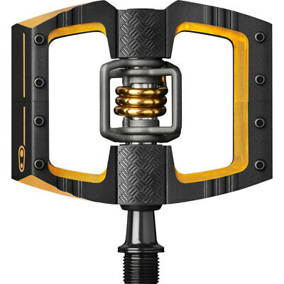Crank Brothers Mallet DH 11 Pedals: Black/Gold
