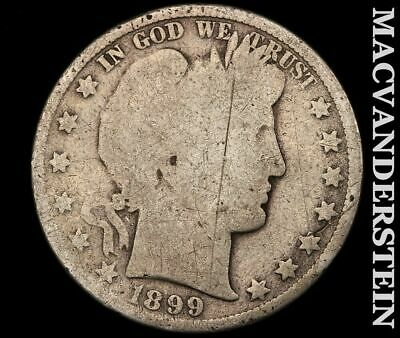 1899 Barber Half Dollar-Scarce Better Date!!  #e192