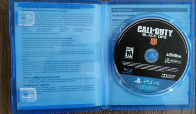 Call of Duty: Black Ops 4 PS4....