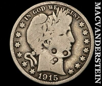 1915-S Barber Half Dollar-Scarce Better Date!!  #e239