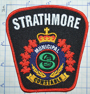Canada, Strathmore Police Municipal Constable Patch