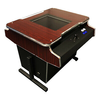 COCKTAIL ARCADE MACHINE 60 GAMES IN 1, COFFEE TABLE TOP, games room man cave NEW