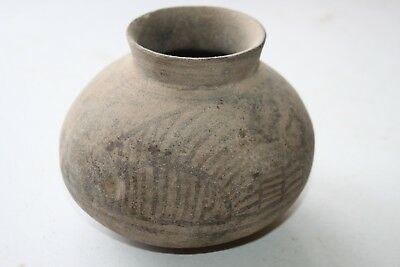 Ancient Indus Valley Pottery Flask 2800 1800 Bc Harappan