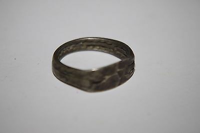 ANCIENT ROMAN SILVER FINGER RING 1/2nd Century AD