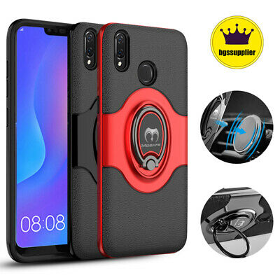 For Huawei P20 Mate P30 Pro Lite P Smart Shockproof Case Ring Stand Bumper Cover