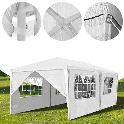 3X4m Waterproof Outdoor Garden Gazebo Party Tent Marquee Awning Canopy Shelter