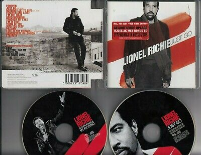 LIONEL RICHIE Just Go LIMITED ED 2-CD HOLLAND SYMPHONICA IN ROSSO