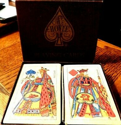 Vintage Hoyle Playing Cards In Original Box-Pre-Owned-Hard To Find-A Great Gift
