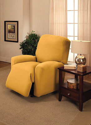 """-/""""WASHABLE/"""" JERSEY RECLINER COVER----LAZY BOY-----COBALT----/""""STRETCHES/"""""""