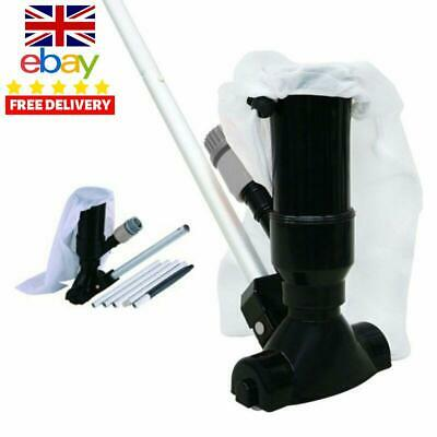 Hot Tub Swimming Pool Jet Vacuum Cleaner Pole Vac Hoover Clean Cleaning Maintena