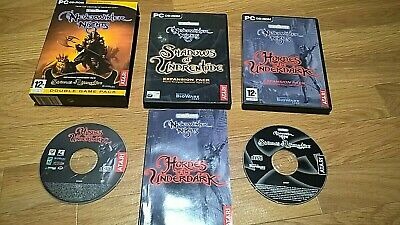 **Never Winter Nights Shadows of Underentide ~ PC CD-ROM ~ Excellent Condition**