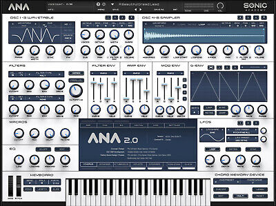 Sonic Academy ANA 2 Vst Plug-In For Windows Only (Instant Delivery) 📥
